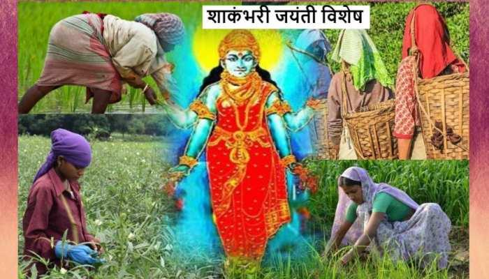 Shakambhari Jayanti: खेतों में काम करने वाली हर मां है देवी शाकंभरी