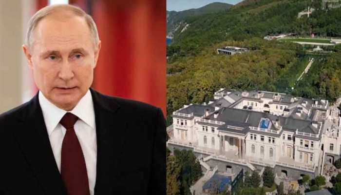 russian president vladimir putin secret palace near black sea Alexei Navalny revelation