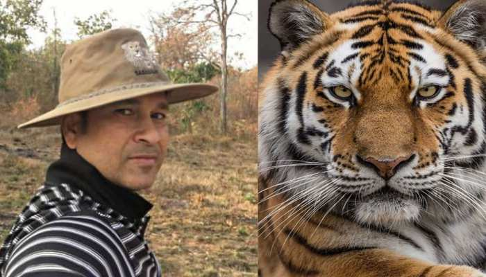 Master Blaster Sachin Tendulkar with Tiger, He shares traveling pics of India