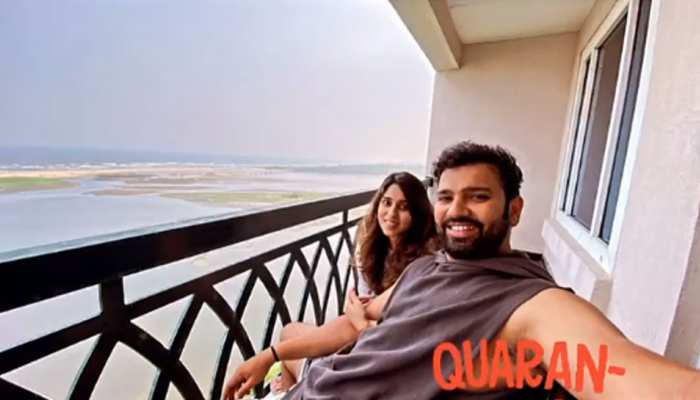 IND vs ENG Test Series: Rohit Sharma हुए Quarantine, पत्नी Ritika Sajdeh के साथ शेयर की तस्वीर