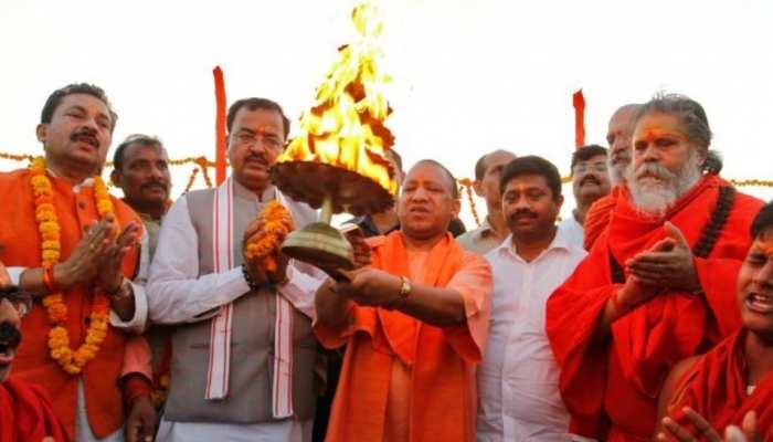 योगी सरकार का ऐलान, बिजनौर से लेकर बलिया तक होगी गंगा आरती