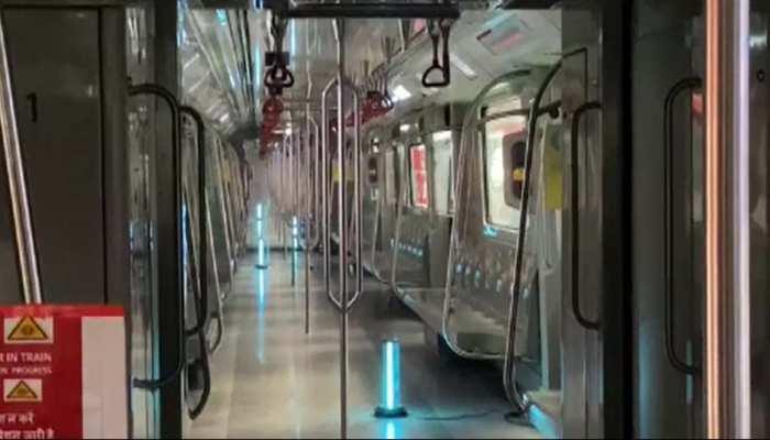 America की तर्ज पर UV Rays से सैनिटाइज हो रही लखनऊ मेट्रो, Safe Travel की मिलेगी गारंटी