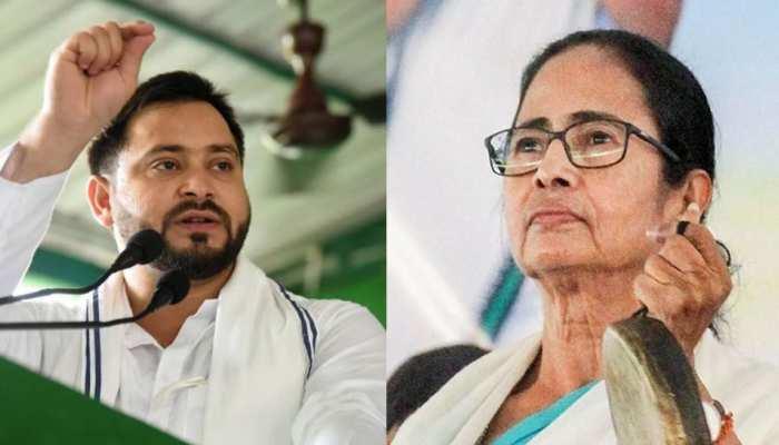 बिहार छोड़ बंगाल की ओर दौड़े तेजस्वी यादव, BJP के खिलाफ Mamta Banerjee से मिलाएंगे हाथ