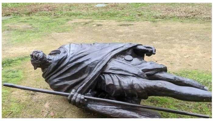 गांधी प्रतिमा तोड़ने वालों को मिलेगा दंड, भारतीय-अमेरिकी समूहों ने की कड़ी निंदा