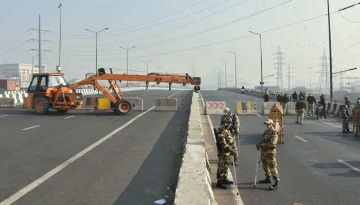 Delhi Traffic Alert: Farmers Protest की वजह से NH-24 समेत कई रास्ते बंद, ये रूट किए गए डायवर्ट