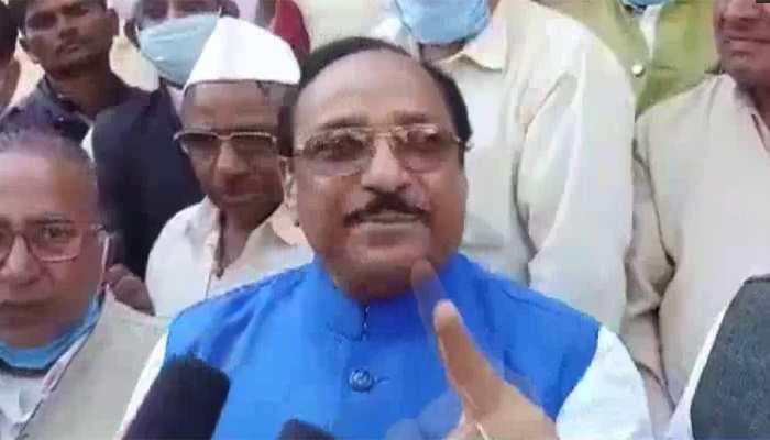 """""""राम के नाम पर चंदा लेकर शाम को शराब पीते हैं BJP वाले"""", कांग्रेस नेता विवादित बयान"""