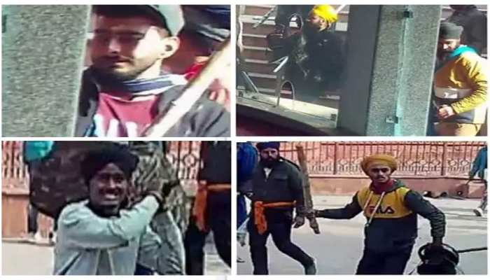 Delhi Police have clear photos of 12 vandals of 26th January Tractor rally violence
