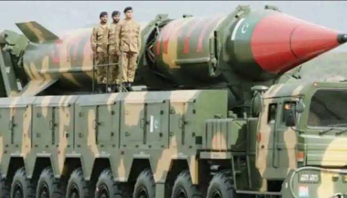 पाक ने परमाणु क्षमता से लैस 'गजनवी' बैलिस्टिक मिसाइल का किया परीक्षण