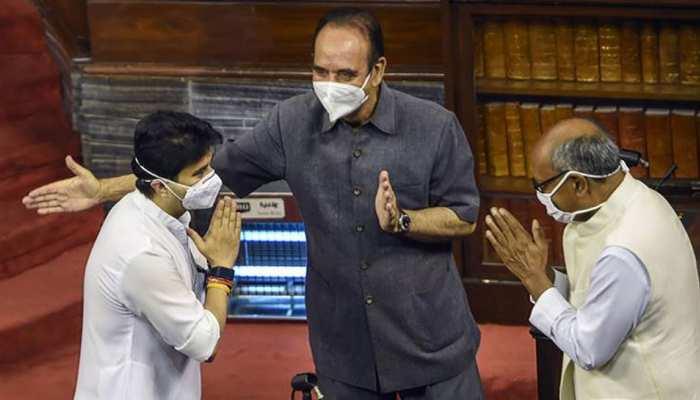 संसद में दिग्विजय बोले- ''वाह जी महाराज वाह'', सिंधिया ने कहा- सब आप ही का है आशीर्वाद