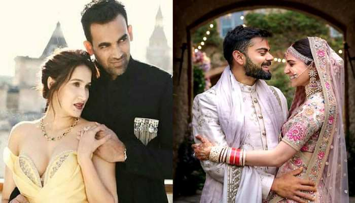 6 star cricketers who married beautiful bollywood actresses, see pictures