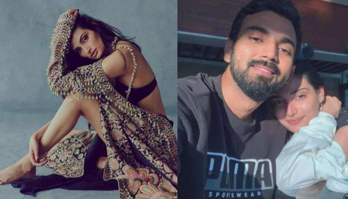 KL Rahul Romantic comment on Athiya Shetty new hot picture, see viral photo