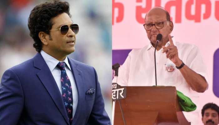 Sharad Pawar ने दी Sachin Tendulkar को नसीहत, 'अपने क्षेत्र से अलग विषय पर बोलने में बरतें सावधानी'