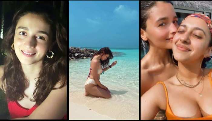 alia bhatt shared beautifull photo from maldives vacation