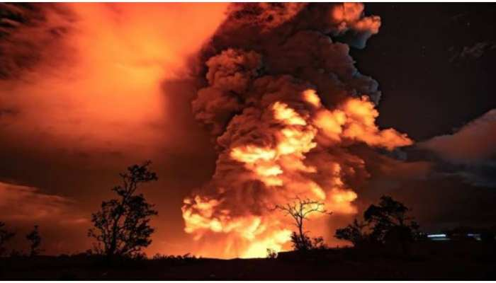 wonder of science lava river in hawaii near kilauea volcano