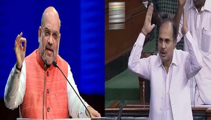 टैगोर की कुर्सी पर बवाल: Amit Shah ने नेहरू और राजीव का नाम लेकर अधीर रंजन को दिया करारा जवाब
