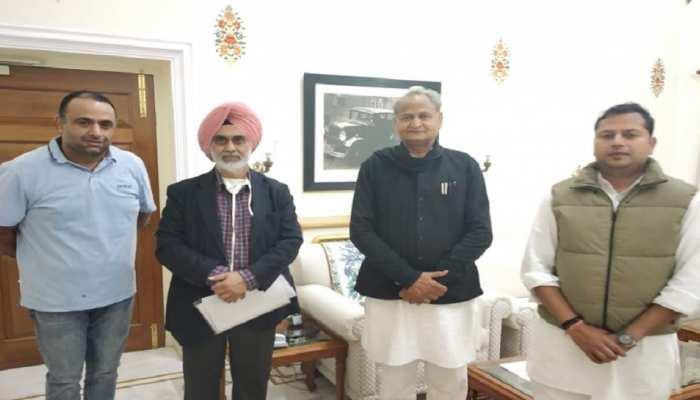 Rajasthan: RCA चीफ वैभव गहलोत ने CM से की मुलाकात, Budget में की यह मांग