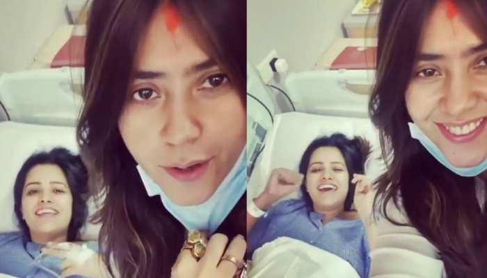 Ekta Kapoor की मांग में दिखा सिंदूर, क्या है माजरा? Video हो रहा वायरल
