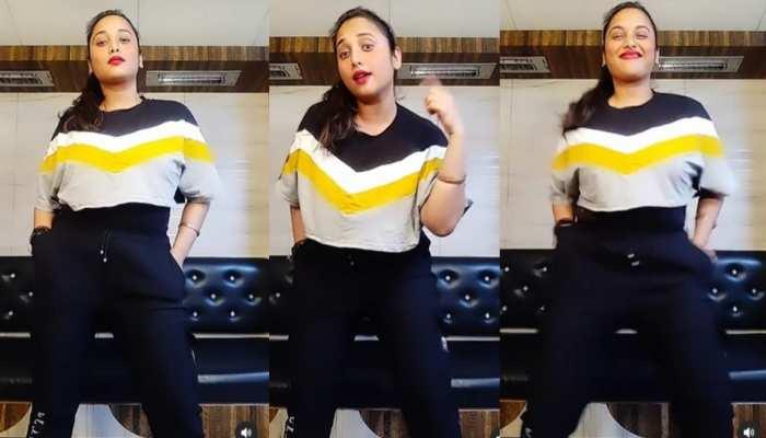 Rani Chatterjee ने किया Kamar Teri Left Right Hale गाने पर डांस, वीडियो देख झूम उठे फैंस