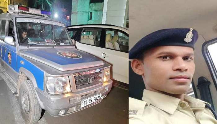Dial 112 की गाड़ी लेकर मौज करने निकला कांस्टेबल, पुलिस ने नाकेबंदी कर किया गिरफ्तार