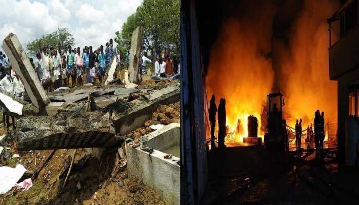 Tamilnadu की पटाखा फैक्ट्री में भीषण विस्फोट, 11 लोगों की दर्दनाक मौत