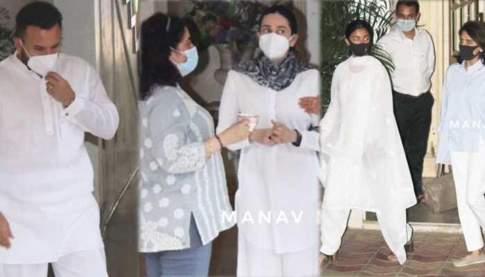 Rajiv Kapoor Prayer Meet: अर्जुन कपूर और आलिया भट्ट के संग दिखे ये सितारे