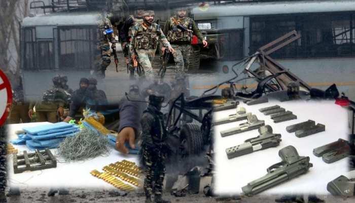 Pulwama Attack: बड़ी साजिश का पर्दाफाश, 7 किलो RDX के साथ 8 आतंकी गिरफ्तार