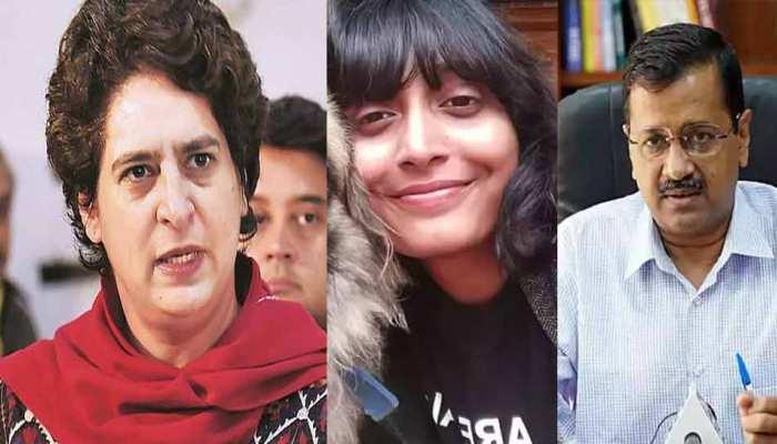Disha Ravi की गिरफ्तारी पर प्रियंका गांधी-अरविंद केजरीवाल समेत कई नेताओं ने उठाए सवाल, जानें किसने क्या कहा