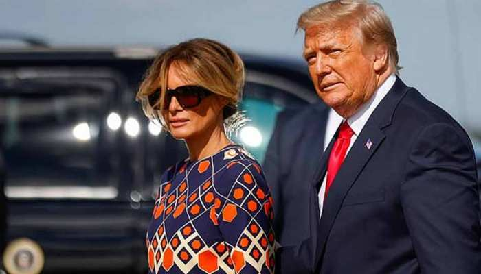 Melania Trump posts Valentine Day message sending love, but makes no mention of husband Donald Trump
