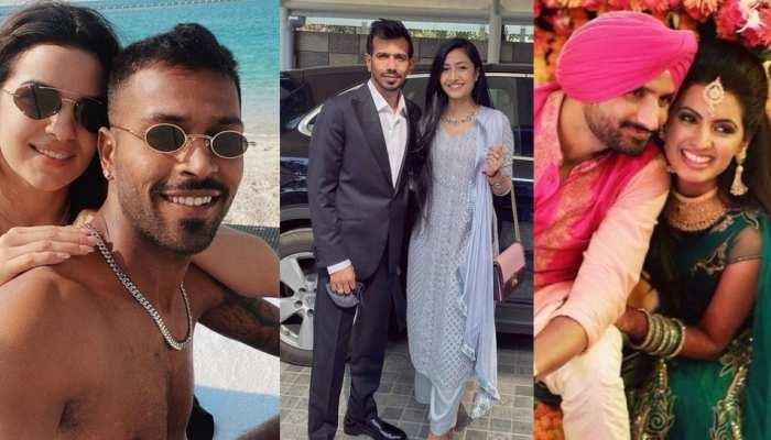 Hardik Pandya virat kohli and many more cricketers celebrate Valentine's Day, see Photos Viral