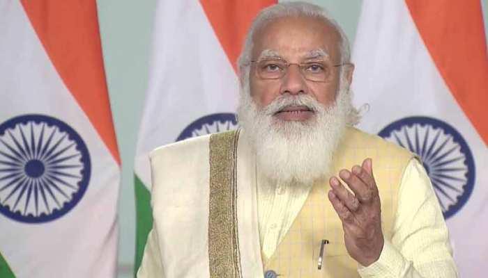 Farmers Protest पर एक बार फिर बोले PM Modi, कहा- किसानों को डराया जा रहा