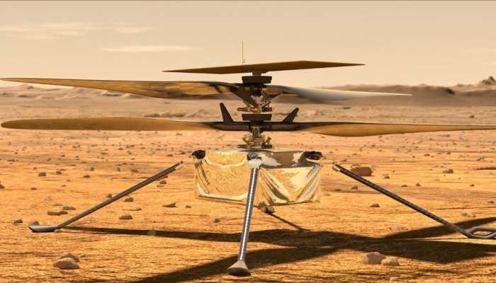 Ingenuity Helicopter On Mars: लाल ग्रह पर चक्कर काटेगा NASA का 'हेलीकॉप्टर', लाएगा मंगल पर जीवन होने के सुबूत