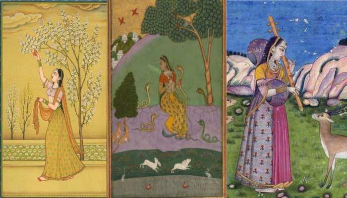 Basant Panchmi 2021: रागमाला पेंटिंग में बिखरे हैं बसंत के रंग