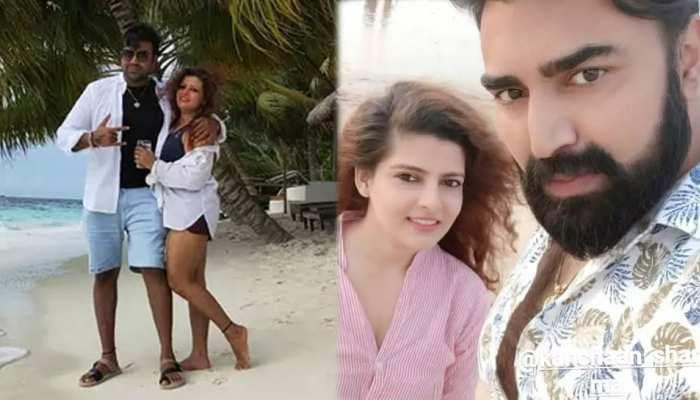Sandeep Nahar Suicide: Sandeep Nahars Photos with his wife kanchan Nahar