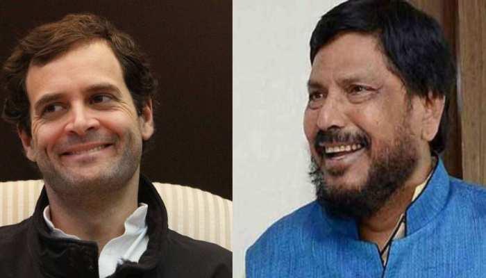 Rahul Gandhi के नारे 'हम दो- हमारे दो' पर केंद्रीय मंत्री Ramdas Athawale ने ली चुटकी, कही मजेदार बात