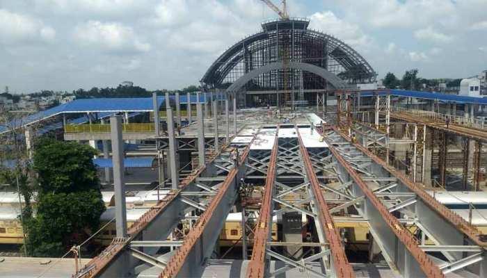 Rail Minister Piyush Goyal shares video of Gandhinagar Railway station after redevelopment