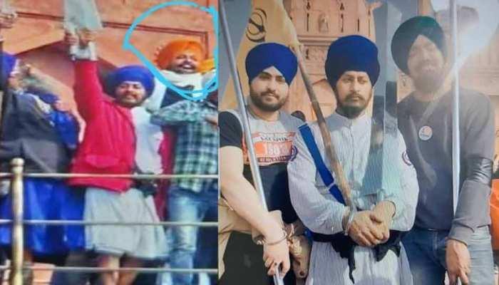 Delhi Violence: दिल्ली पुलिस को बड़ी सफलता, पकड़ा गया लाल क़िला में तलवार लहराने वाला आरोपी