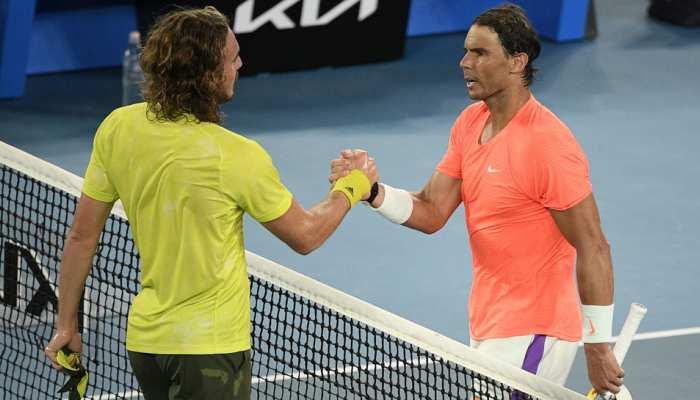 Australian Open 2021: Rafael Nadal का 21वां Grand Slam जीतने का सपना टूटा, Stefanos Tsitsipas ने किया टूर्नामेंट से बाहर