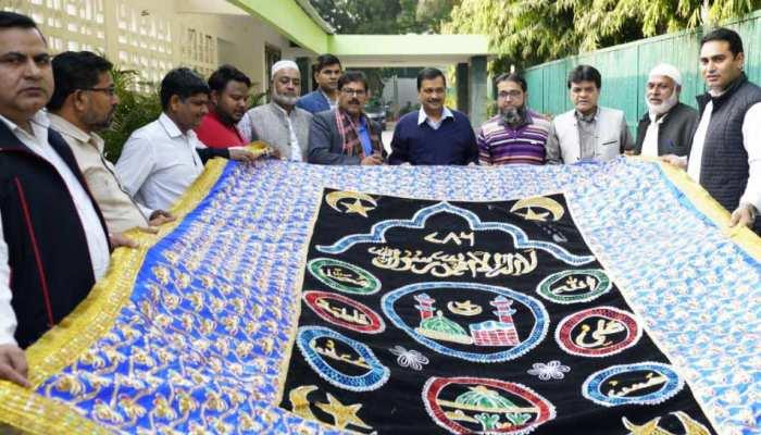 Arvind Kejriwal ने अजमेर शरीफ भेजी विशेष चादर, दुनिया से कोरोना दूर होने की दुआ मांगी