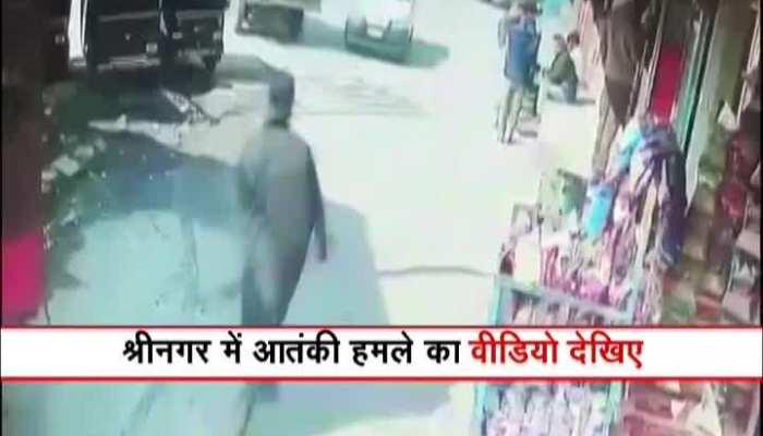 Watch: Exclusive CCTV footage of terrorist attack in Srinagar