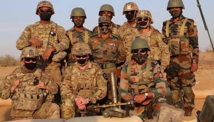 राजस्थान में India-US की सेनाओं का साझा युद्धाभ्यास, पाकिस्तान-चीन के लिए छिपा है ये संदेश