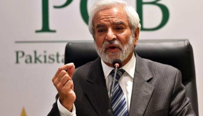 PCB अध्यक्ष Ehsan Mani ने दी चेतावनी, कहा- 'भारत से वीजा आश्वासन नहीं मिला तो T20 World Cup कहीं और कराने की मांग करते रहेंगे'