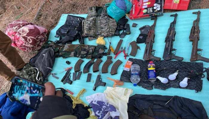 Terrorist's Hideout Busted: जम्मू-कश्मीर के Anantnag में Security Forces ने बरामद किया गोला-बारूद