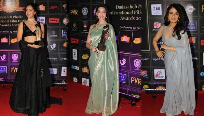 Dada Saheb Phalke Award: Nora Fatehi Sushmita sen Nia Sharma And these Stars On The Red Carpet