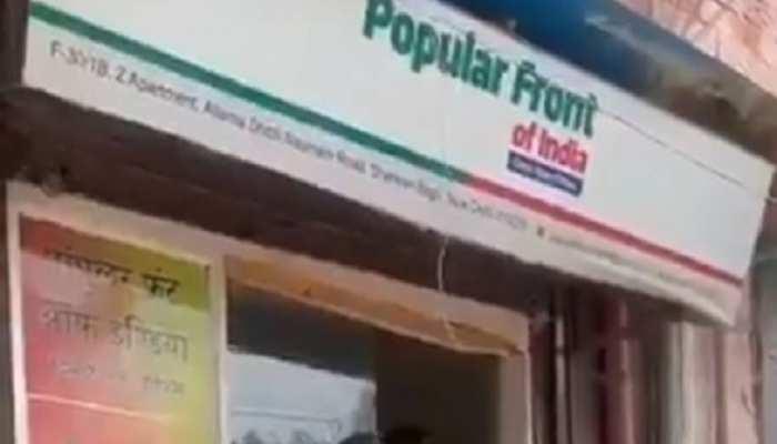 UP STF ने शाहीन बाग में मौजूद PFI के दफ्तर पर मारी रेड, जानिए पूरा मामला