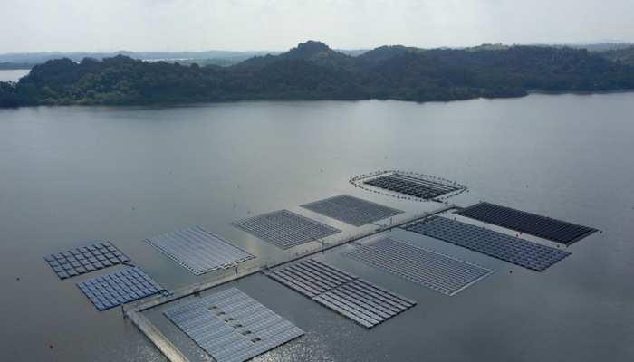 विश्व की सबसे बड़ी विद्युत परियोजना ओंकारेश्वर में, नर्मदा में तैरते सोलर पैनल्स से पैदा होगी बिजली
