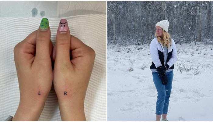 Australia की महिला ने हाथों पर बनवाया 'L' और 'R' का Weird Tattoo, जानिए वजह