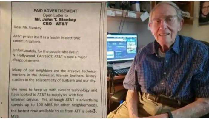 Internet Speed कम होने की शिकायत के लिए शख्स ने खर्च किए 7 लाख से ज्यादा रुपये, देखिए Viral Ad की फोटो