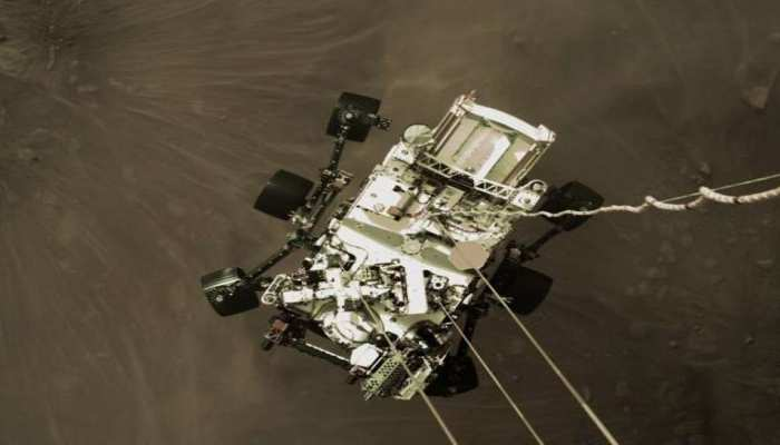 NASA Perseverance Rover Landing Video: मंगल से NASA के रोवर ने भेजा पहला वीडियो, देखें लाल ग्रह का अद्भुत नजारा