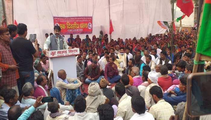 दयानंद वर्मा हत्याकांड: JDU MLA की गरफ्तारी को लेकर महागठबंधन का धरना, कहा-विधायक को बचाने में जुटी सरकार