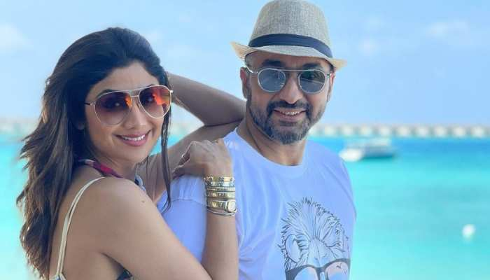 Shilpa Shetty enjoys maldives vacation along with husband raj kundra